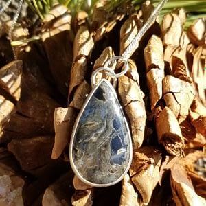 Turkish Stick Agate Pendant
