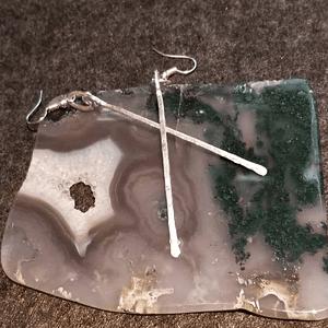 Fine Silver Long Dangle Earrings