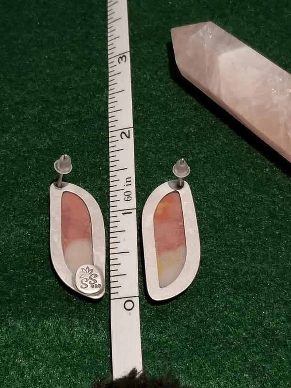 Mookaite Post Earrings