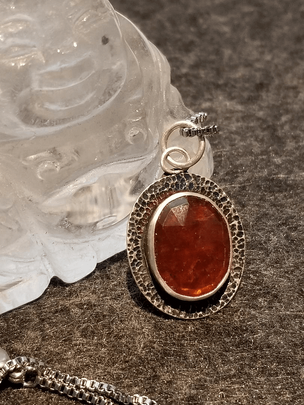 Red Kyanite Pendant