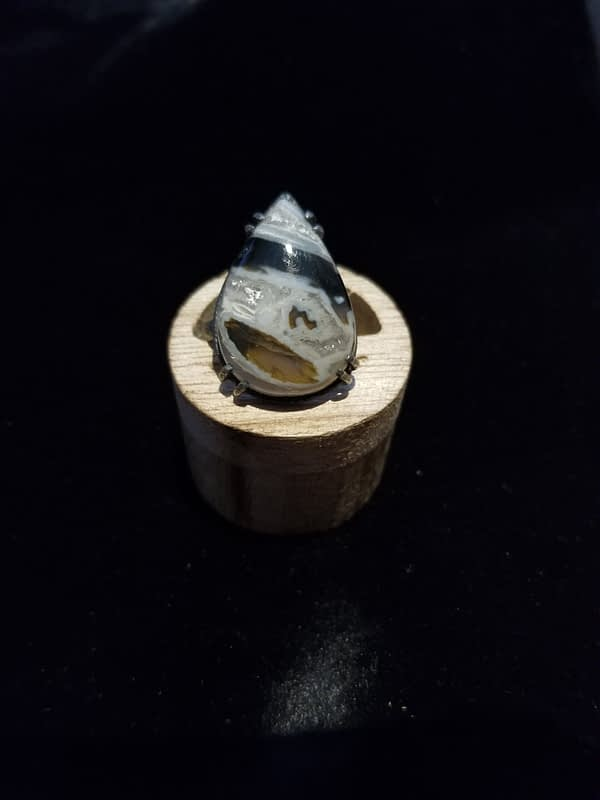 Moroccan Stick Agate Ring